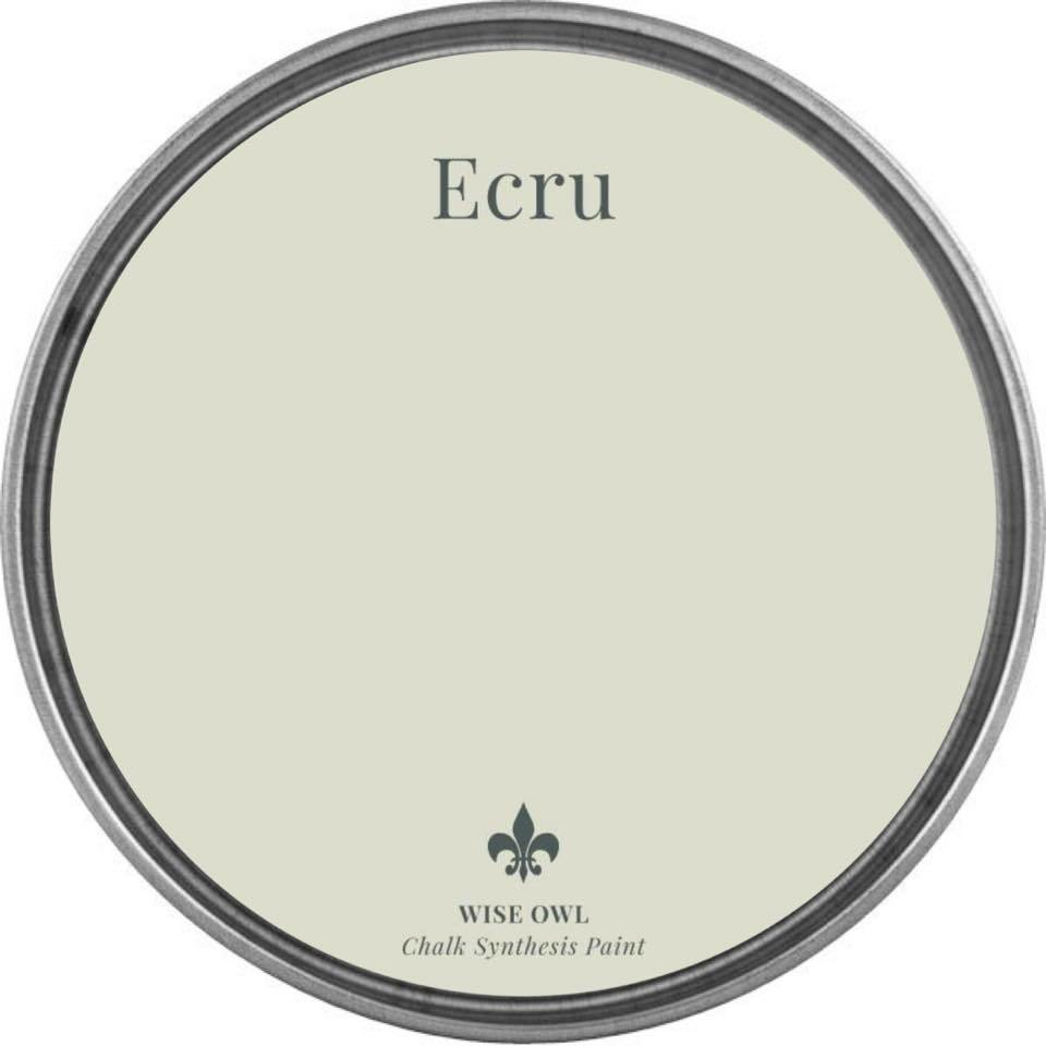 Ecru Wise Owl Chalk Synthesis Paint – Pint (16 oz)
