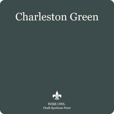 Charleston Green Wise Owl Chalk Synthesis Paint – Pint (16 oz)