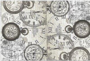 Tick Tock Decoupage Sheet 20