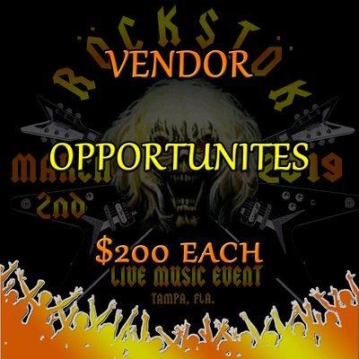 Vendor Opportunities