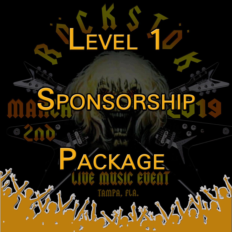 Level 1 Sponsorship Package Level1
