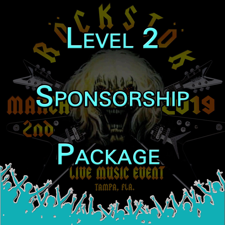 Level 2 Sponsorship Package