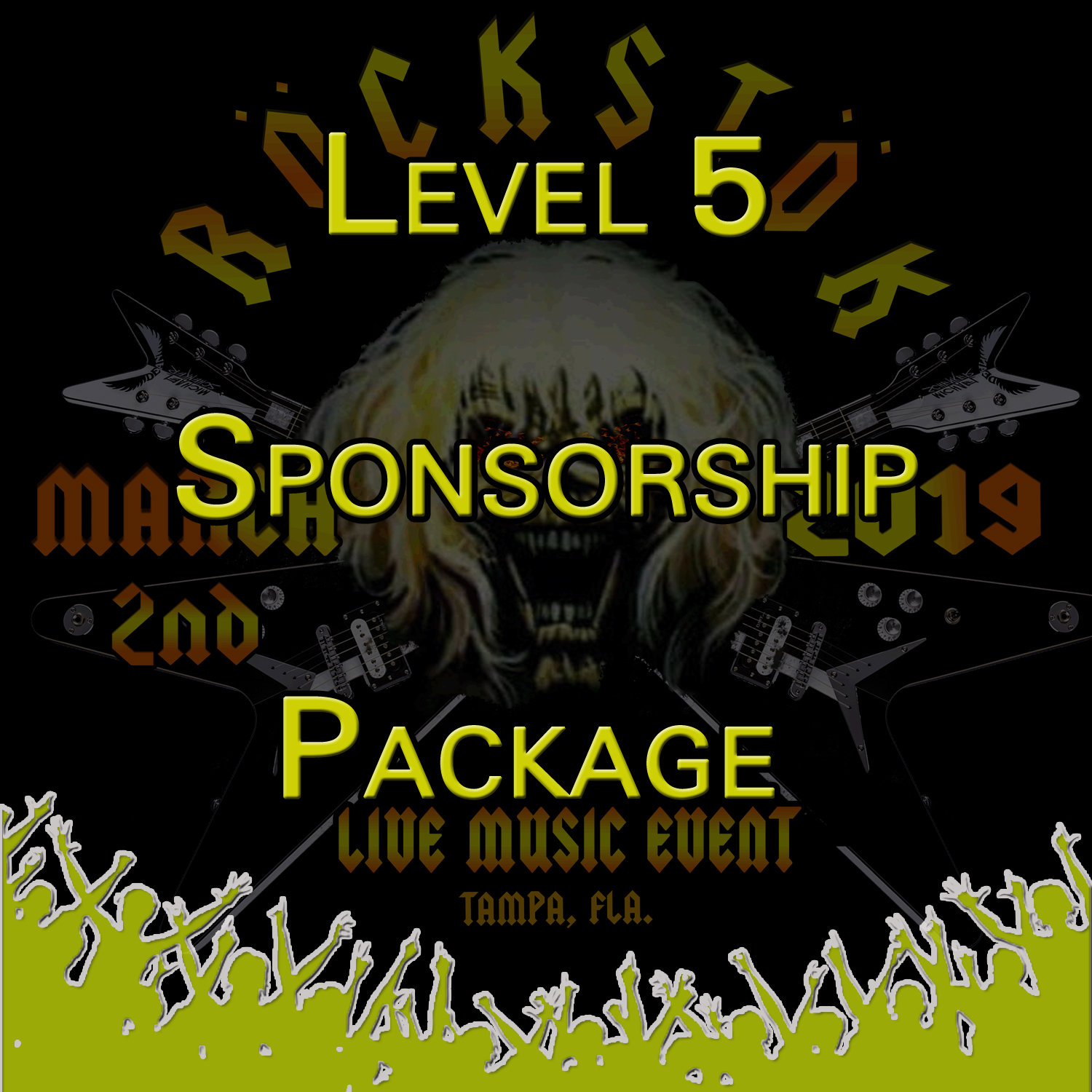 Level 5 Sponsorship Package