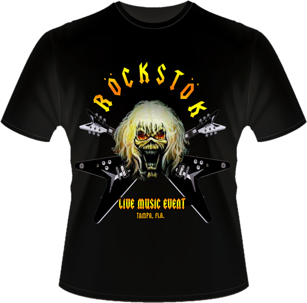 RockStock 2019 Pre Event Shirt (Also Comes in Pink)