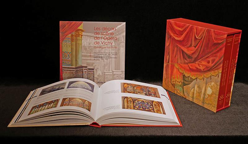 Catalogue raisonné des Décors de scène de l'Opéra de Vichy - Prix Achille Allier 2018