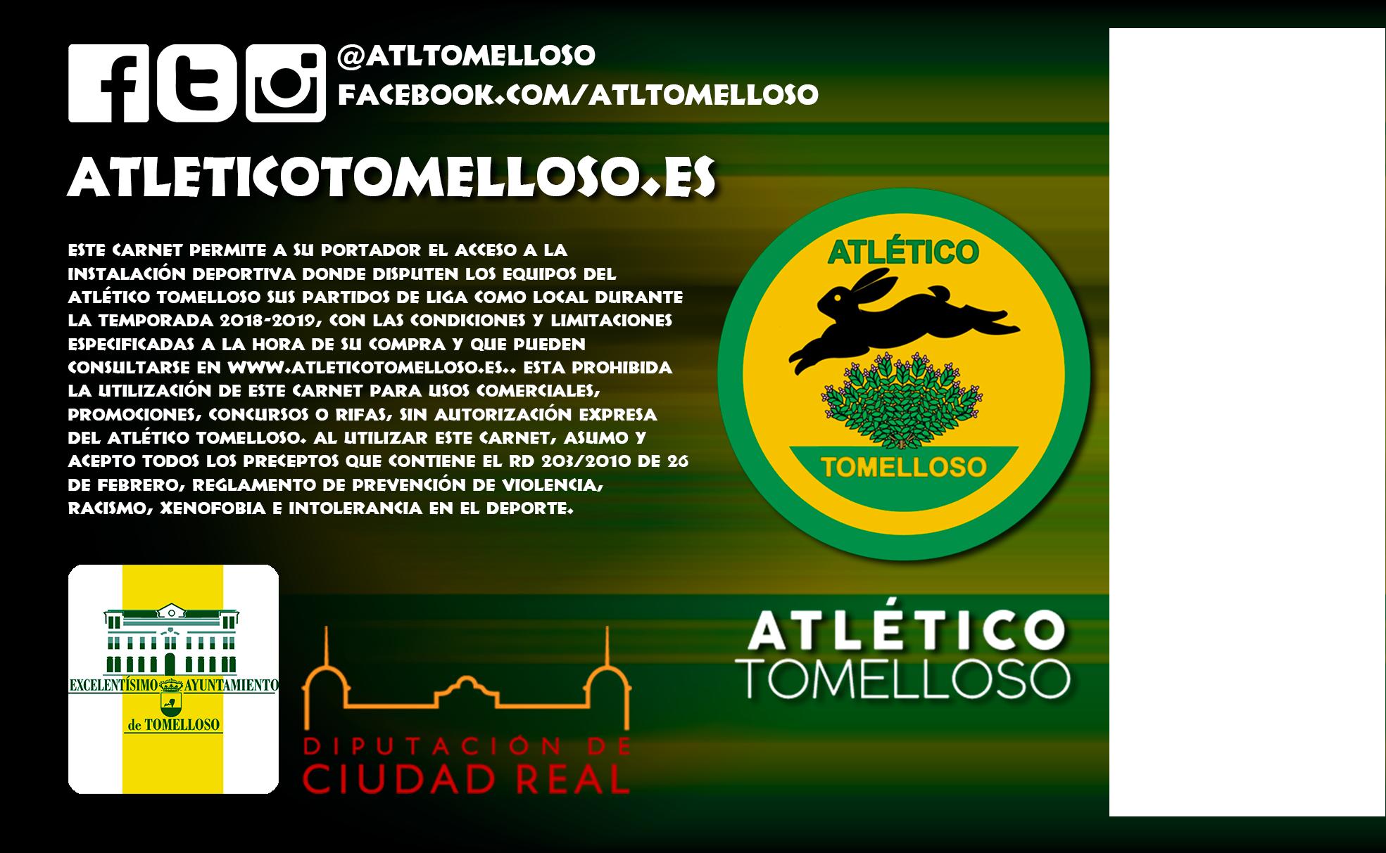 SOCIO ORO Temporada 2018-19