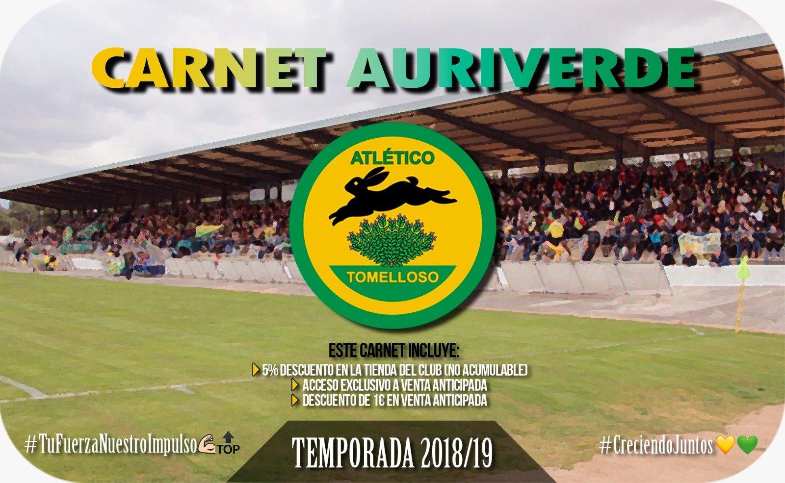 CARNET AURIVERDE Temporada 2018-19 00081