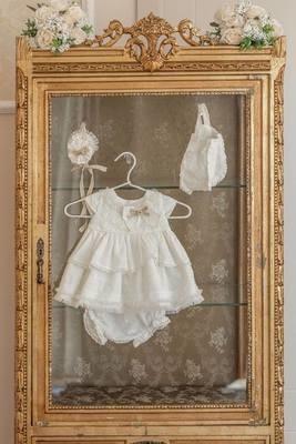 c6403c846 Sarah Louise Summer 2019 White/Blue Dress. £48.50. Dolce Petit