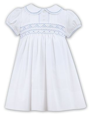 ccd57bf9f264 Sarah Louise Summer 2019 White/Blue Dress