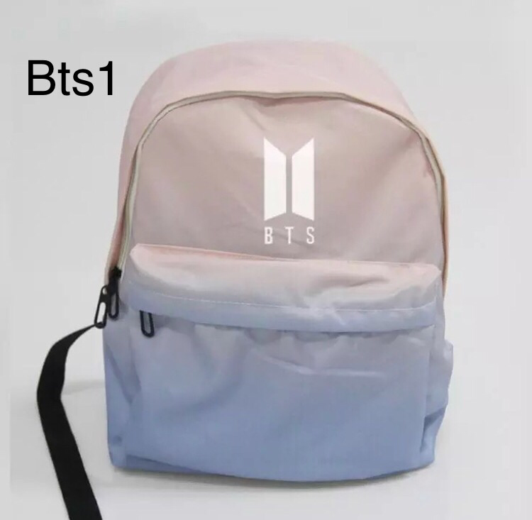 Kpop Bts got7 monstax ikon blockb exo wanna one seventeen blackpink حقيبة  وردية