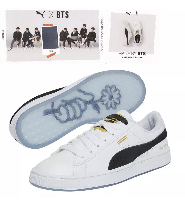 BTS BANGTAN BOYS Official Goods PUMA X BTS TURIN Shoes