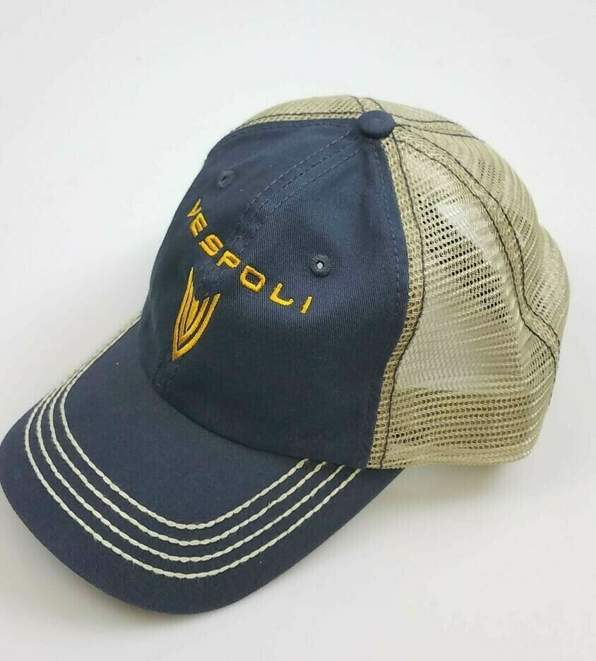 Trucker Hat, VESPOLI, Blue