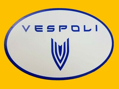 VESPOLI Logo Magnets, Oval