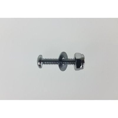 Nut, Bolt, Washer - To attach Steering Pulley Mounting Bracket [Set of 2]