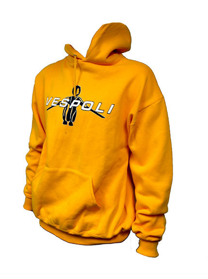 """VESPOLI """"Throwback"""" Hoodie, GOLD Only"""