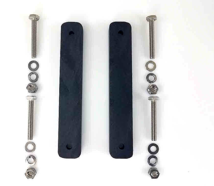 Wing Rigger Riser Kit with hardware