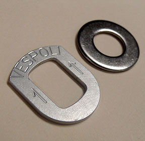 Lateral Pitch Shim, Includes Flat Washer