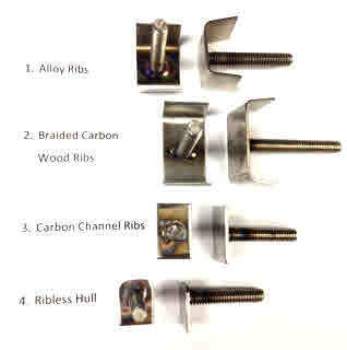 Rigger Bolts, One Stud