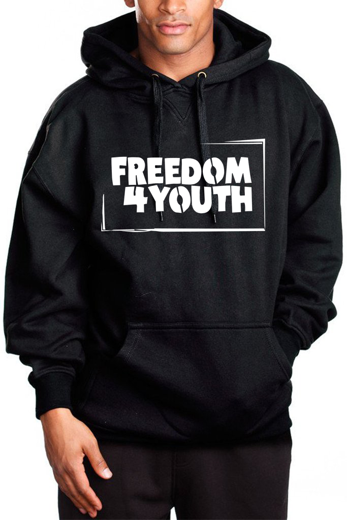 F4Y Heavy Hoodie (w/front Logo ONLY) HOODIEHVY1