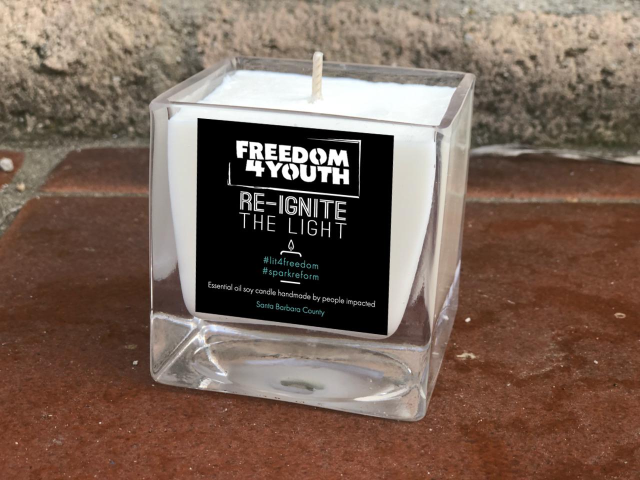F4Y Lit 4 Freedom Essential Oil Soy Candle