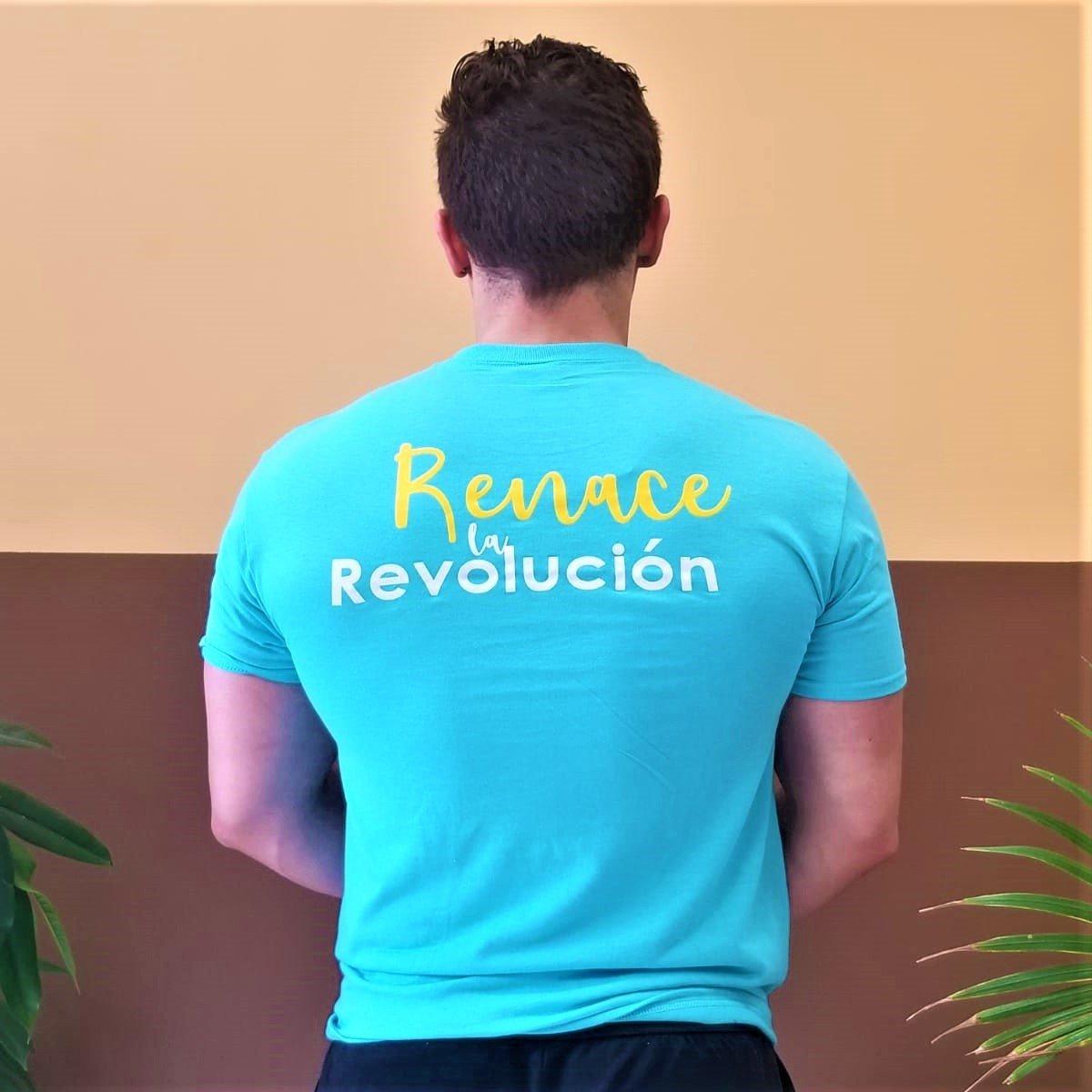 Camiseta Unisex sin cuello - Acuerdo Nacional -Revolución Ciudadana
