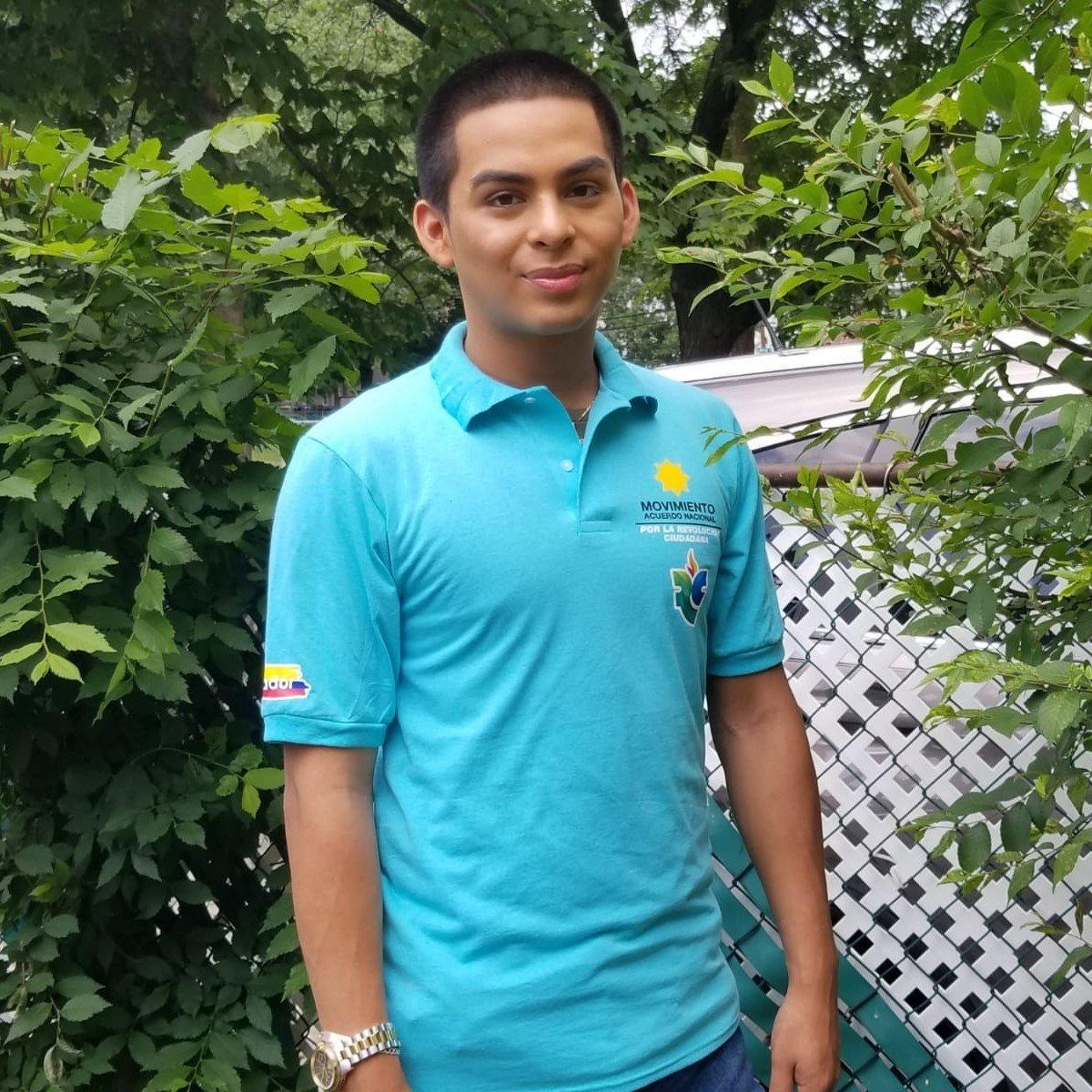 Camiseta unisex con cuello Acuerdo Nacional -Revolución Ciudadana 00001