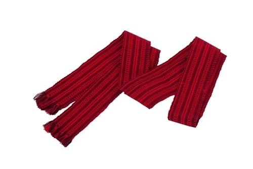 2aad3b306da153 #пояс тканий червоний