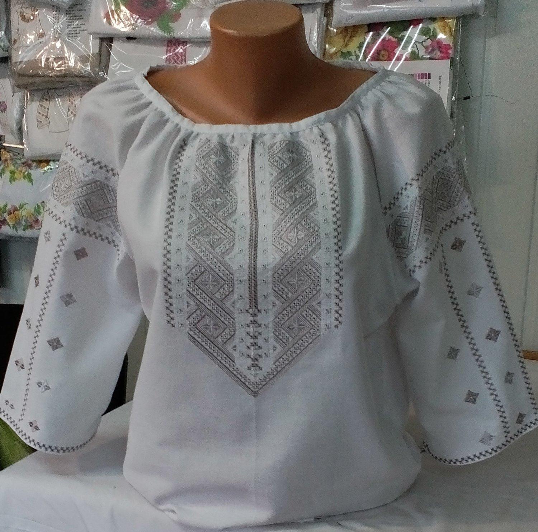 ec2788b56b5cb8 #вишиванка, жіноча вишивана блузка на домотканому полотні (Арт. 01892)