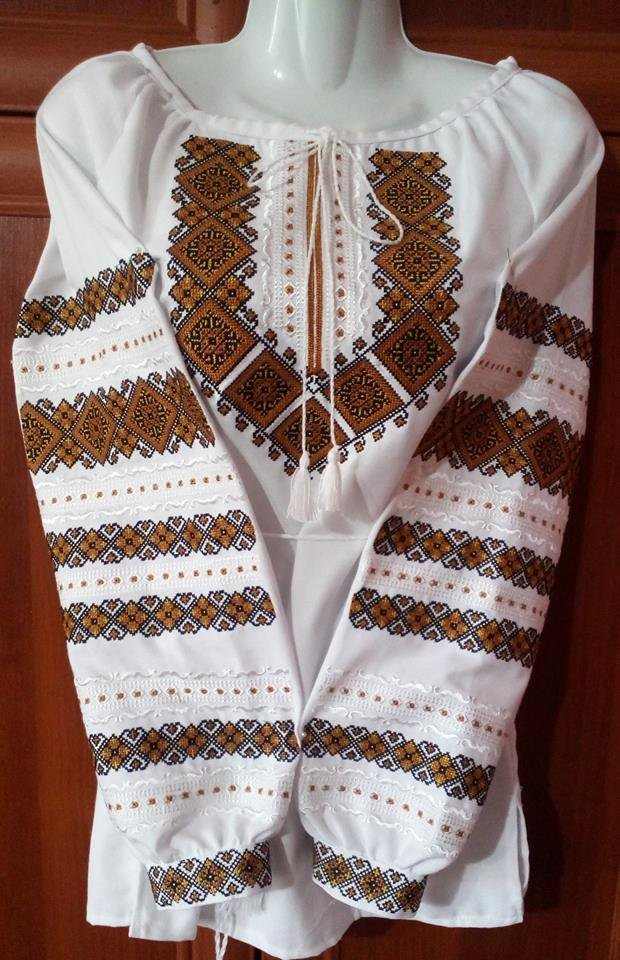 55ba07aa297bbe Вишиванка, жіноча вишивана блузка на домотканому полотні (Арт. 02002)