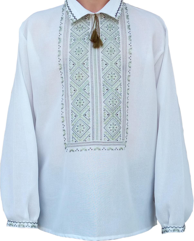 70ed3cad78011e #вишиванка ручної роботи, чоловіча вишита сорочка (Арт. 01676)