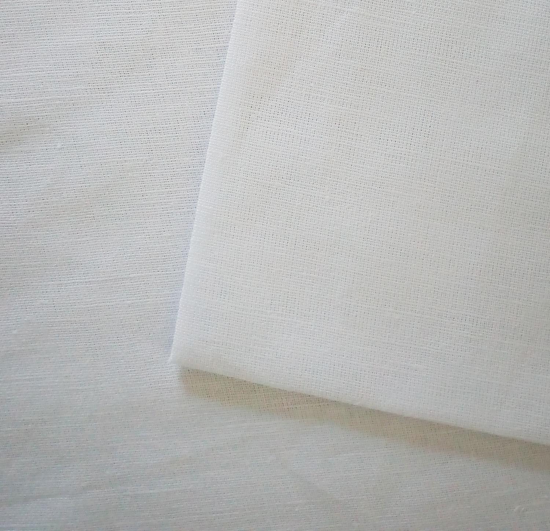 Льон для ручної та машинної вишивки білого кольору ce83243cd2c69