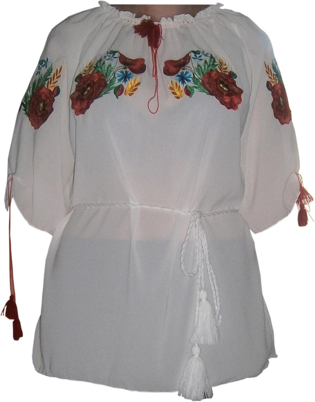 вишиванка жіноча з квітами (Арт. 00324) 6f0ce9f7d3e84
