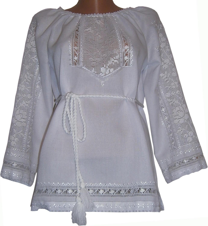 69039851773818 Вишиванка, жіноча вишивана блузка ручної роботи
