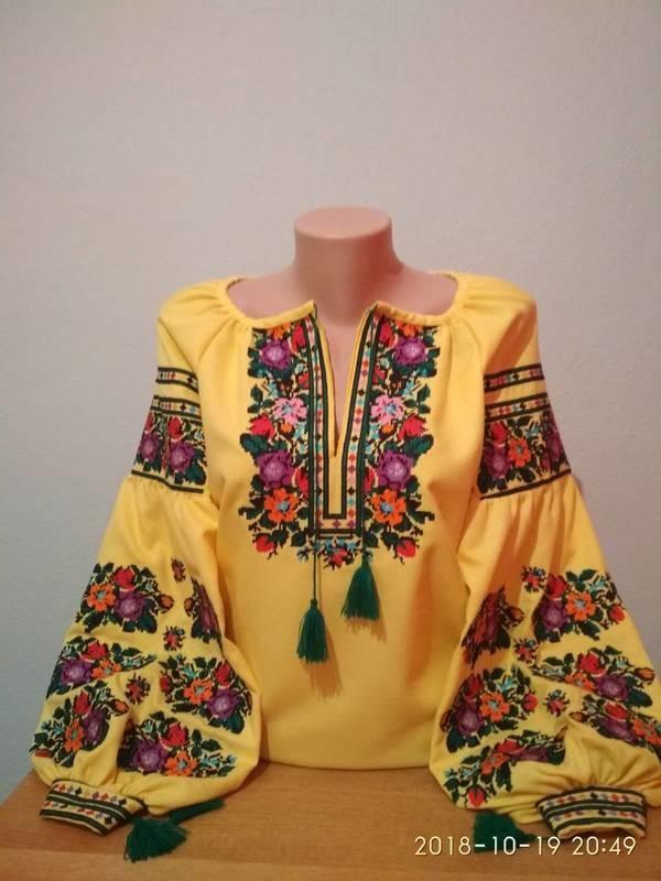 Гуцульські Жіночі Вишиванки  Купити жіночу гуцульську вишиванку c258e932d6c9b