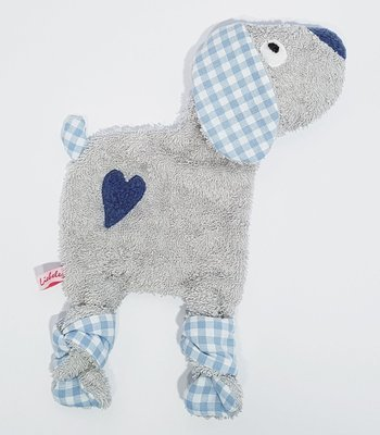 Schnuffelhund grau/blau