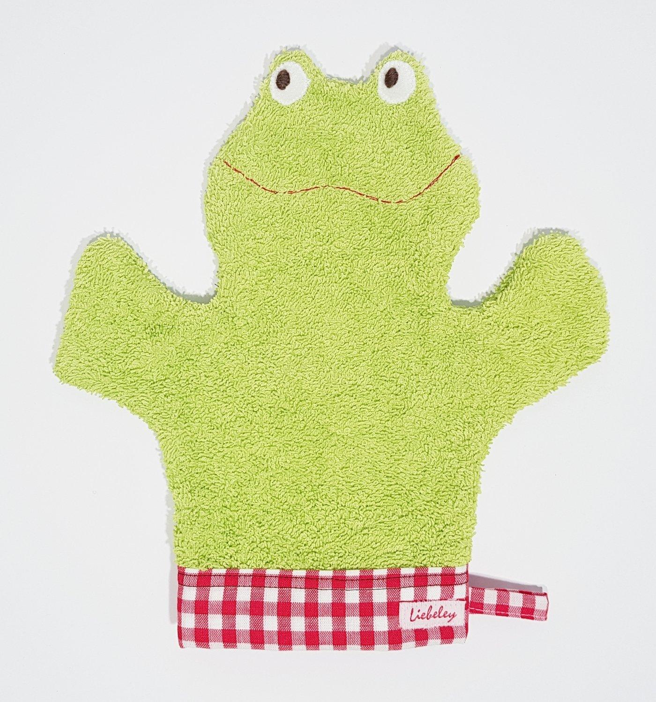 Waschfrosch    grün/rot