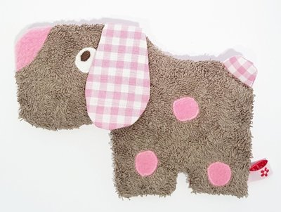 Dinkelhund    beige/rosa