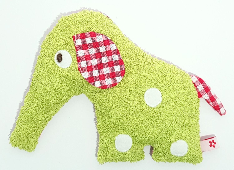 Dinkelelefant         grün/rot