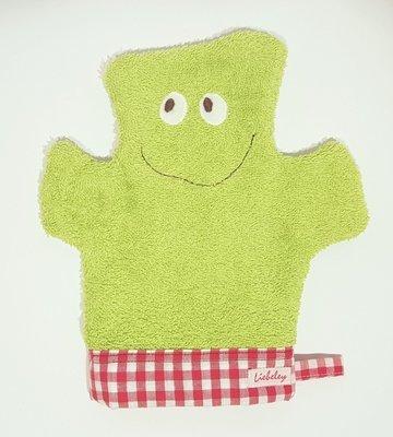 Waschmonster  grün/rot