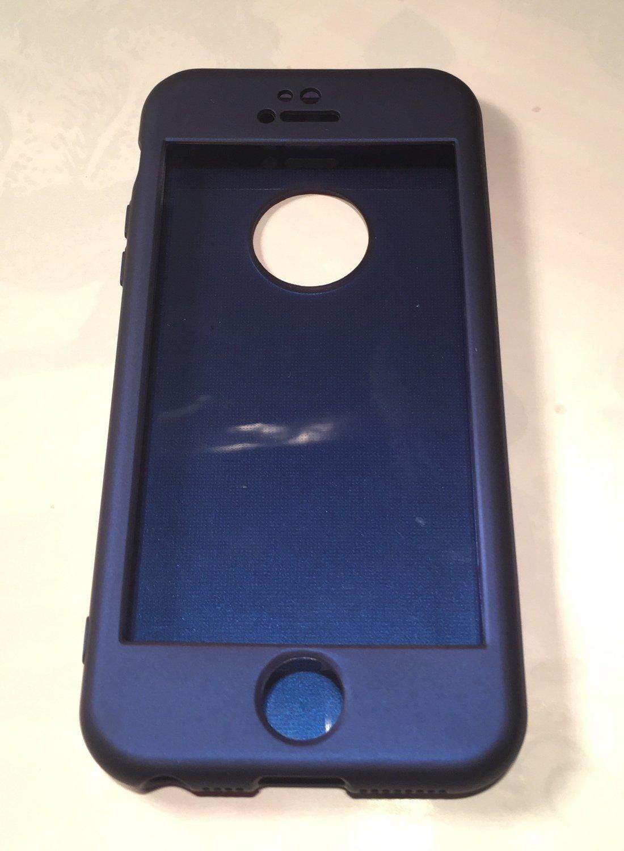 Чехол Voero 360° силикон+TPU для iPhone 5/iPhone 5S/iPhone SE. 4 цвета