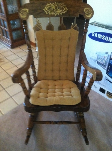 finest selection dfc2f 2993d Vintage Rocker Made in Yugoslavia from 1979