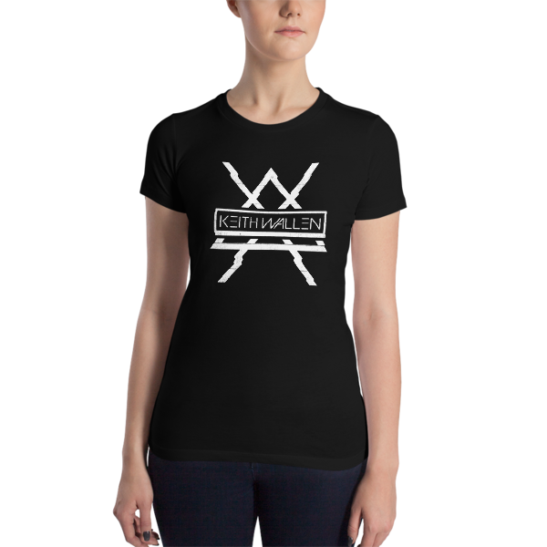 Women's Slim Fit Glitch Tee