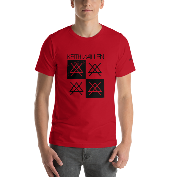 Short-Sleeve Red/Black Tee