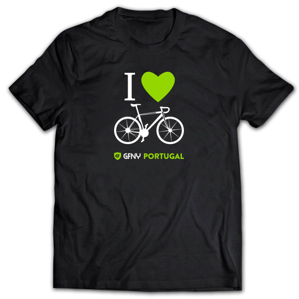 T-Shirt I Love Bike