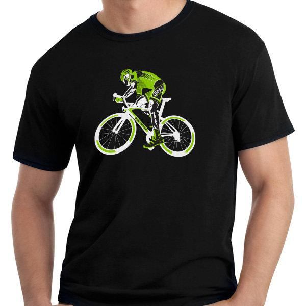 T-Shirt Ciclista Black T004