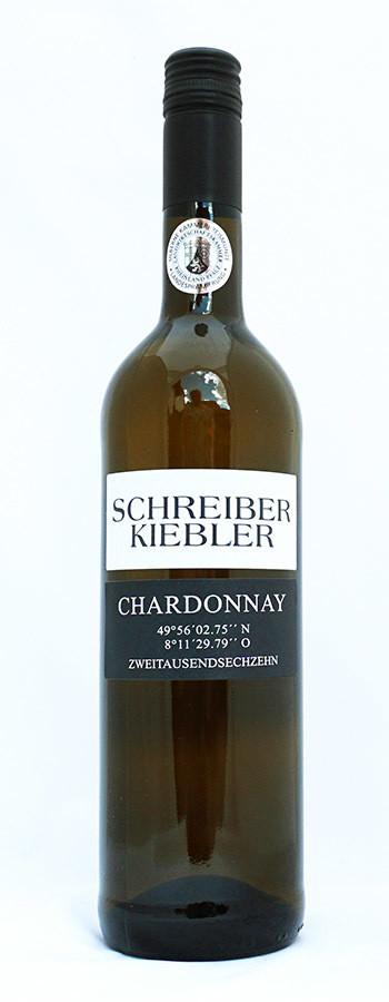 2016 Chardonnay  49°56´04.8´´N 8°11´29.4´´O