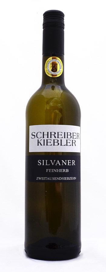 2017 Silvaner feinherb
