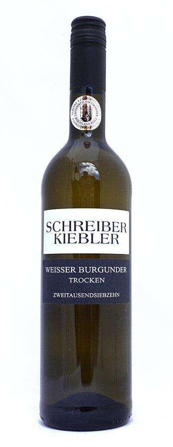 2018 Weisser Burgunder trocken
