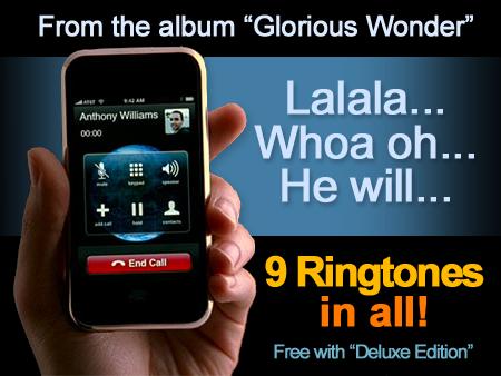 Glorious Wonder Ringtones GWRT001