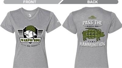Ladies Grey Ham Grenade Shirt (pre-Sale)